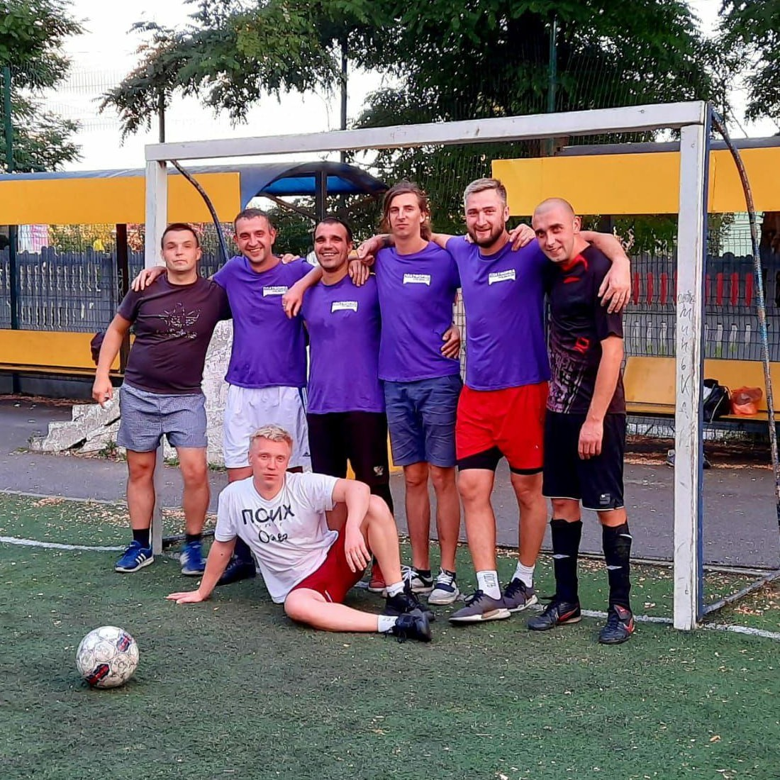 Спортивные соревнования в реабилитационном центре